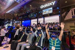 MWC 2017展会上的三星VR体验区-三星2017 创新仍是核心DNA,让...