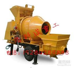 拖泵输送一体机,农建拖泵,搅拌输送一体机价格相关图片-【搅拌输...
