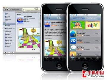远远甩在身后.App Store已经拥有了超过5万个针对iPhone平台的应...