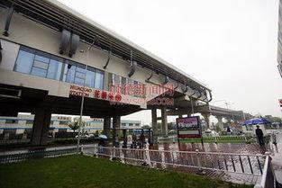 花桥地铁站的建设,大大缩减了上海到花桥所需的时间./珠江商报记者...