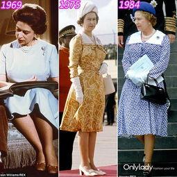 90岁英女王穿遍整个调色盘却从不穿米色