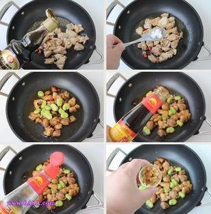 蚕豆烧鸡肉的做法
