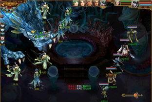 四海龙王合体 巨龙来袭-网易战歌2.0云思维boss升级副本乐趣