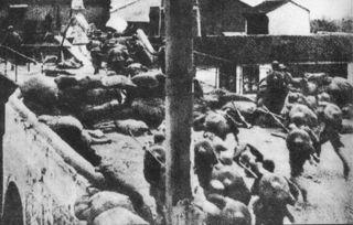 淞沪会战结束,上海陷落