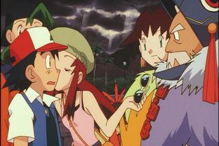 小智不是第一次被亲 这两位女孩也献过吻给他
