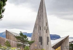 挪威卑尔根 Knarvik社区教堂   位于卑尔根北部的这所新建教堂既拥有...
