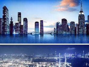 ...市夜景铁轨灯光世界著名建筑背景图图片设计素材 高清模板下载 4.52...