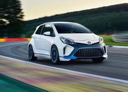 今年9月法兰克福车展上发布的丰田Yaris Hybrid-R概念车-丰田86轿车版...