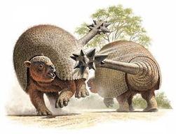 ...8000年前才灭绝,南美印第安人的祖先应该看到过它们.-远古怪兽 ...