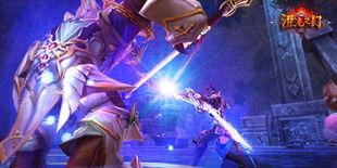 3D魔幻穿越网游《混沌之门》圣光封测异常