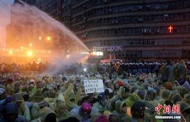 ...北市警察局呼吁游行者勿占主干道影响交通,但由所谓台湾