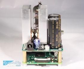 树莓派做了款超小型耳机放大器 竟然还有真空管与大型电容