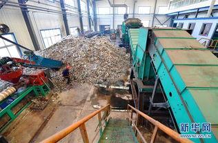 垃圾无害化处理项目塑料颗粒生产... 运用分类分选、塑料打包清洗和有...
