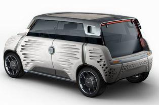车身覆盖件仅重14千克.ME.WE概念车采用与日内瓦车展发布的i-...