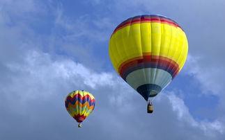 气球,氢气球,浮力气球,吊篮,... 压力仓,黄色格子,纹理,天空,...