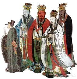 明代壁画四海龙王像-彭德 中华五色系统 五时色与五方色 视频
