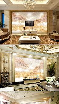 ...现代瓷砖电视墙背景素材 现代瓷砖电视墙模板下载 我图网