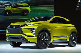 三菱发布SUV概念车预告图 巴黎车展发布