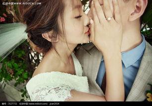 拥抱亲吻的情侣婚纱摄影图片免费下载 编号3127721 红动网