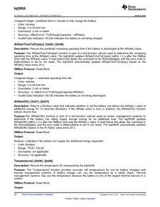 ...ents厂商 BQ2060A E619DBQG4 pdf预览第 28 页, datasheet数据手...
