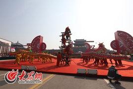 龙飞狮舞、锣鼓震天,第二届中国非物质文化遗产博览会在这里隆重开...