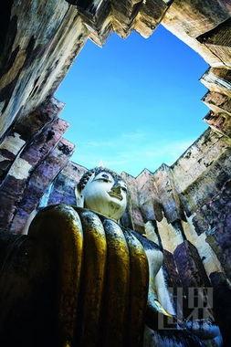 泰国古城素可泰 微笑亦倾城 图