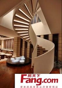 职业学校楼梯设计效果图