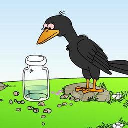 原创动画故事 乌鸦喝水