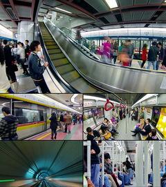 广州地铁人流延时拍摄高清实拍视频素材模板 格式下载 视频79.57MB ...