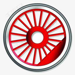 手绘手绘一只车轮素材图片免费下载 高清png 千库网 图片编号9626920