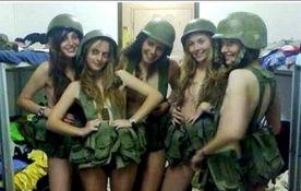 以色列4名女兵网上再曝内衣照将遭惩戒