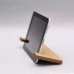 图文教程:diy实用折纸,手机支架