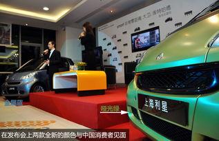 前F1巨星助阵 Smart 2011版首次亮相实拍 -smart都市新主张巡展上海站