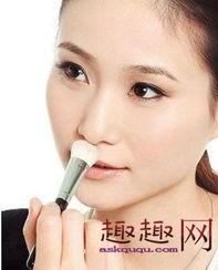 让鼻子坚挺和美丽 不同形状鼻子的化妆法 4