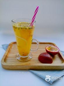 柠檬蜂蜜百香果简单做法