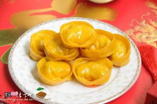 元宝叠法步骤图解-三重祝福寓意最应景主食 金元宝白菜蒸饺