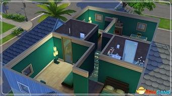 模拟人生4 玻璃水中公寓MOD下载 模拟人生4玻璃水中公寓MOD下载 ...
