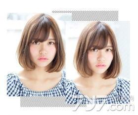浅棕色内扣短发-浅棕色头发图片,浅棕色短发图片女,浅棕色发型图片