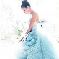 唯美婚纱照头像