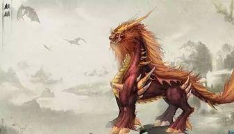 中国传统神兽,与凤、龟、龙共称为