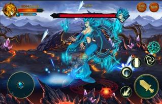 战圣武级-3 锦鳞蟒 身高数丈的魔兽,九级顶级神兽裂天神蟒的孩子 双头巨蟒,...