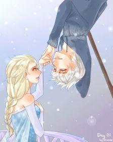 杰克冻人和艾莎
