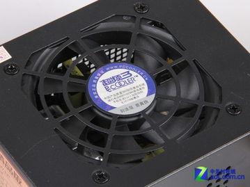 8cm滚珠散热风扇-HTPC也能走线 超频三迷你M1机箱评测