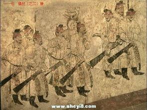 唐獠-旅也使唐代射艺传统迅速发展.唐初名扬一时的唐将张士贵武功高超,...