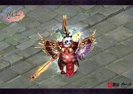 凤舞轩辕外装-公子-月影传说 天下第一联赛招牌坐骑时装