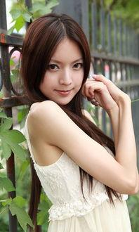 清纯美女手机壁纸精选 6张高清可人美女桌面壁纸