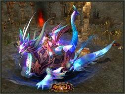 ...玄武 驰骋魔幻大陆-新座驾 神鬼传奇 圣兽玄武带你探秘新世界
