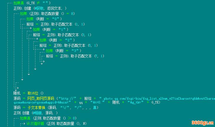 QQ空间相册获取照片获取下载模块源码