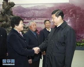 ...上午,习近平在临沂华东革命烈士陵园参观沂蒙精神展并会见当地先...