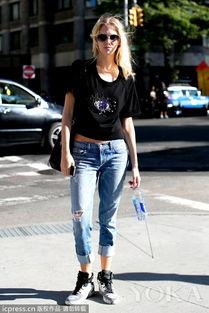 登喜路牛仔裤-蜕变时尚辣妈 如何穿搭是关键